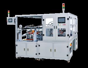 全自动聚合物电池移印喷码机