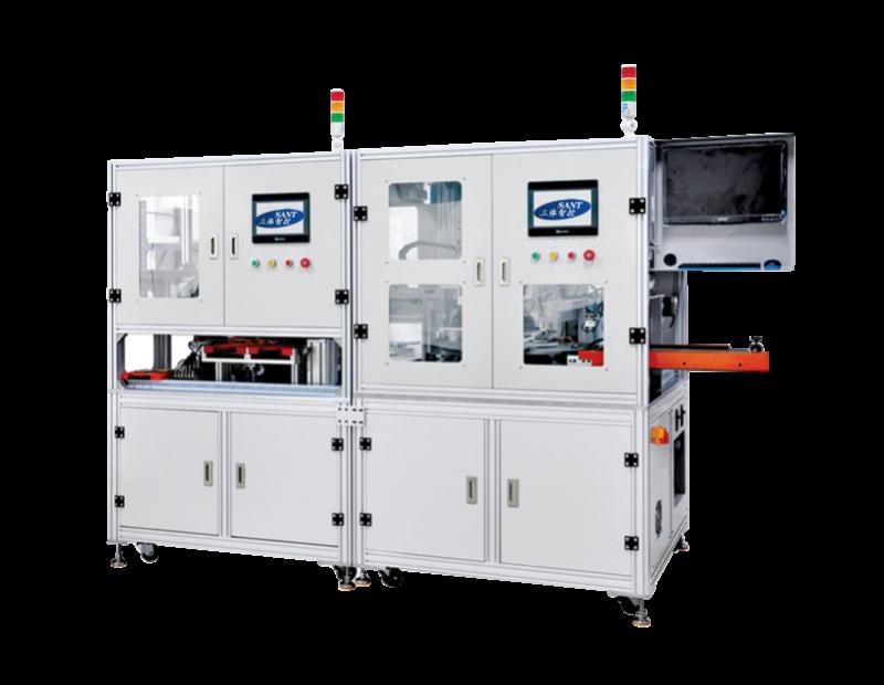 锂电池保护板激光焊接 CCD检测一体机
